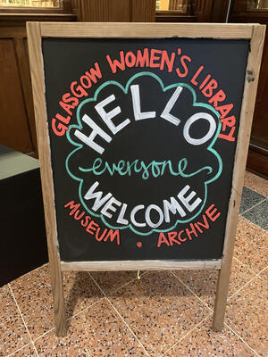 Glasgow Women's Library Poster