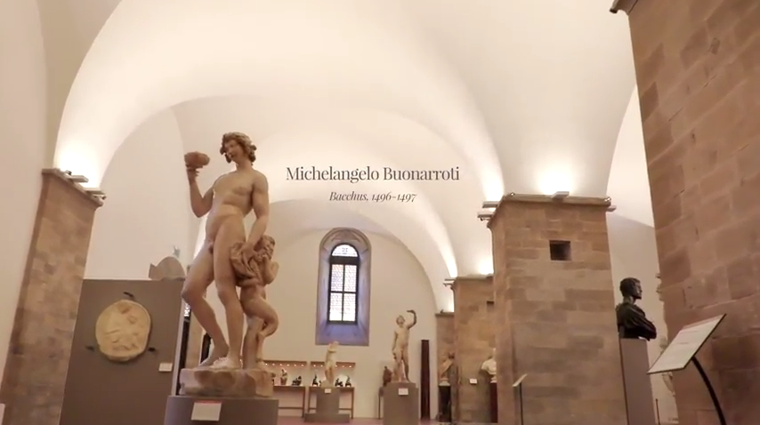 video production for friends of the bargello